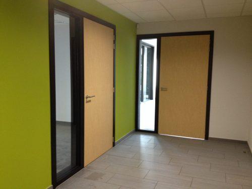 HPL Binnendeuren met glazen zijlichten