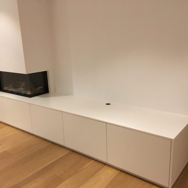 Maatkasten ozen interieur for Tv wandkast
