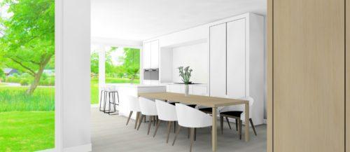 3D beeld keuken